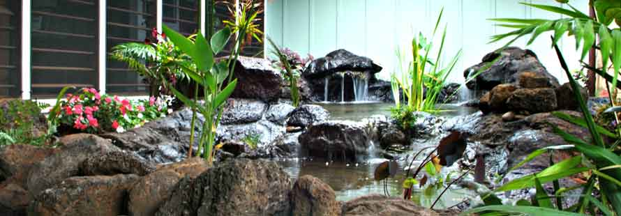 Kauai Ponds and Water Features